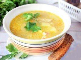 рецепт супа затирка