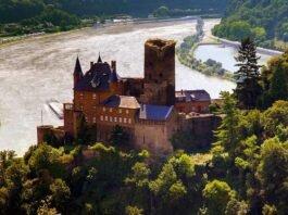 красивые замки и дворцы на Рейне