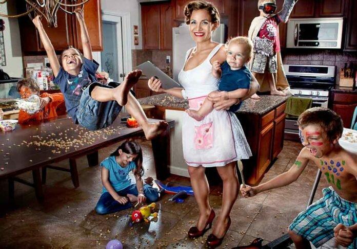 подготовка к празднику когда дома дети