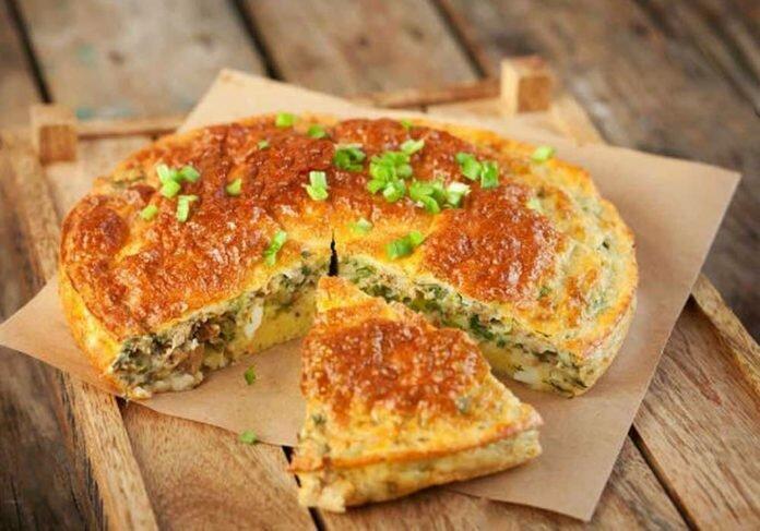 рецепт вкусного пирога с рыбой из консервов